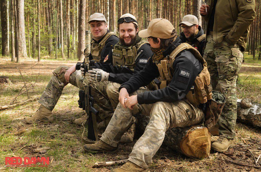 red dawn страйкбольная команда москва